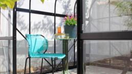 AMES Stuhl outdoor türkis